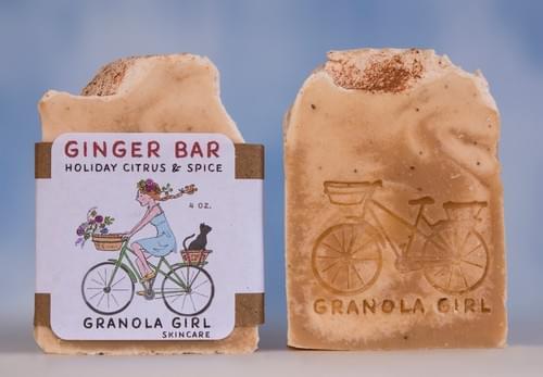 Ginger Bar Soap: Winter Seasonal
