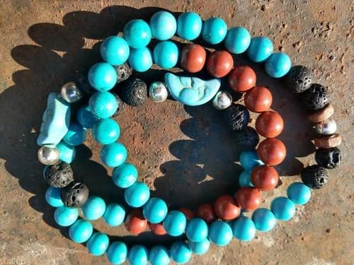 Crystal Essential Oil Bracelets
