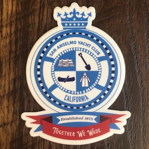 San Anselmo Yacht Club Sticker