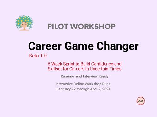 Career Game Changer Beta1.0