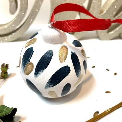 #05, Hand Painted Ornament