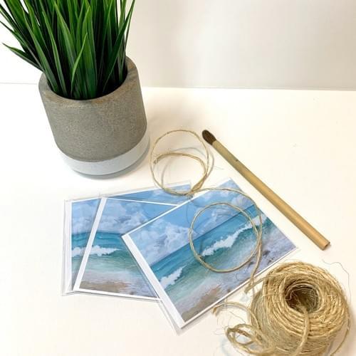 La Playa De Casa Gordon - NOTE CARDS