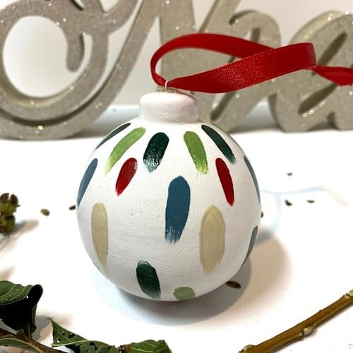 #22, Hand Painted Ornament