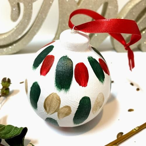 #12, Hand Painted Ornament