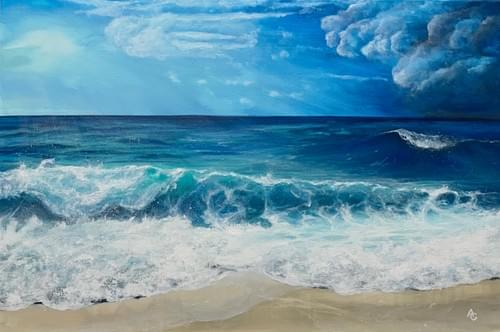 Big Blue Seascape - CANVAS PRINT