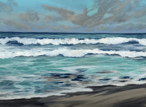 Seascape VII - CANVAS PRINT