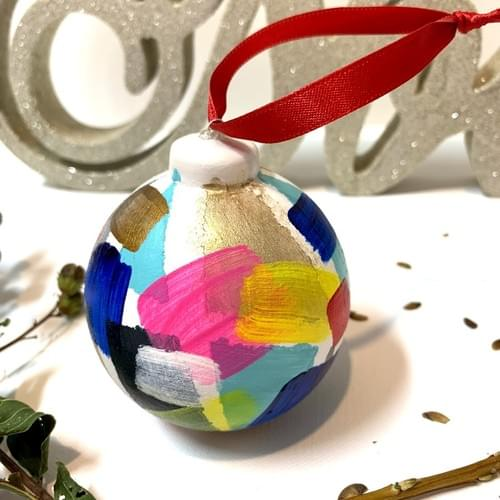 #03, Hand Painted Ornament