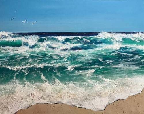 Seascape - CANVAS PRINT