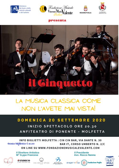 Il Cinquetto  -  concerto del 20.9.2020