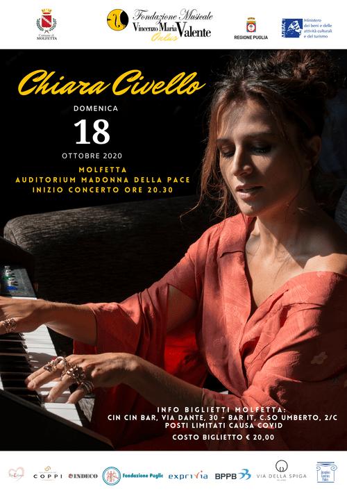 Chiara Civello - SOLD OUT ON LINE : RIVOLGERSI AI PUNTI VENDITA