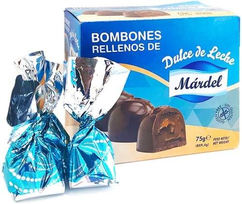 Bombones Rellenos con Dulce de Leche - Sin Gluten