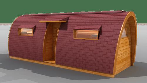 Bungalow apto para campamento
