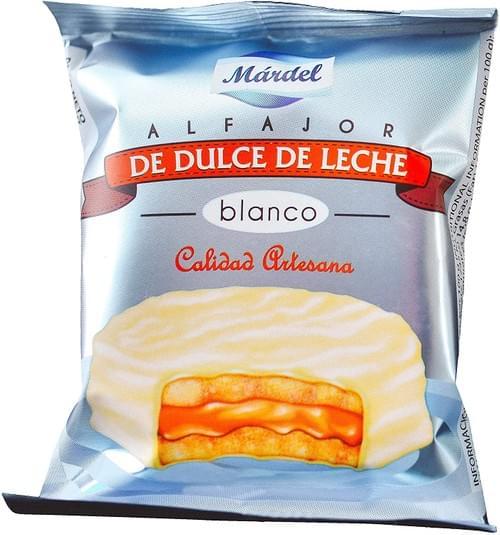 Alfajores Chocolate Blanco - 12 Unidades