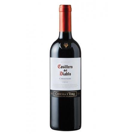 Vino Tinto Concha y Toro - Casillero del Diablo- Carmenère 2018