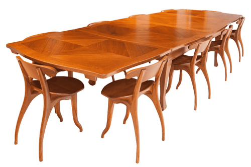 BATLLÓ TABLE GAUDI ORIGINAL (extensible  6 a 8 pax) Chair Not Included