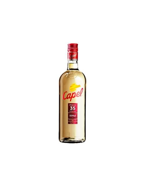 PISCO CAPEL DOBLE DESTILACION 35º