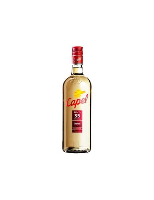 Pisco Capel doble destilación 35º