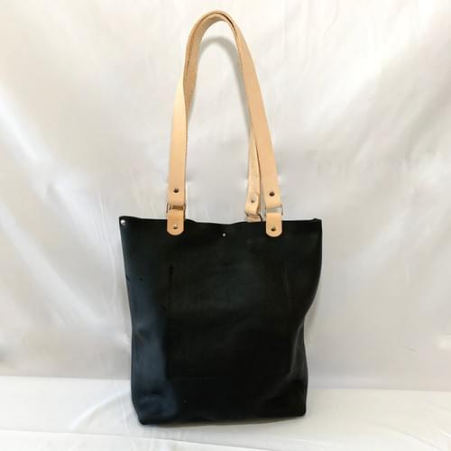 Uptown Leather Tote