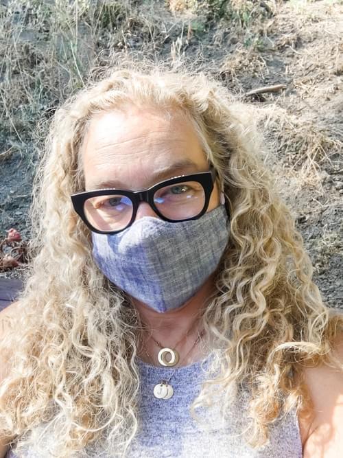 Slub Chambray Face Masks - Washable/Reusable
