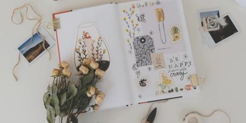 The Art of Self-Care - Art Journaling - Oct. 1