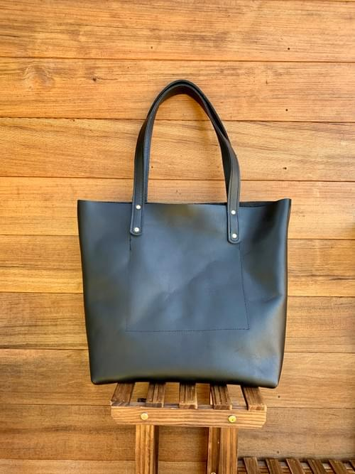 The Leather Market Tote