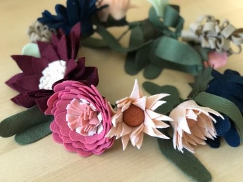 Felt Flower Crowns Online - April 3