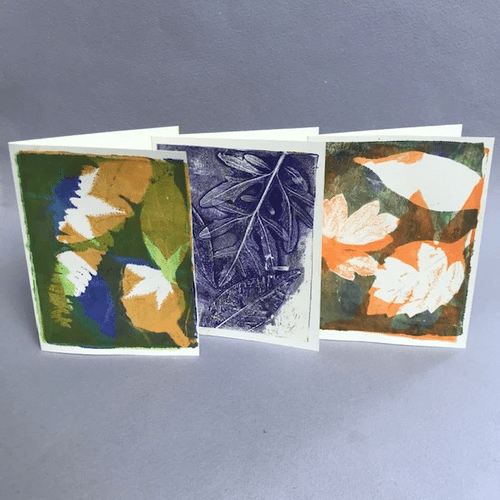 Gel Plate Printing Inspired by Nature - Online 3/21
