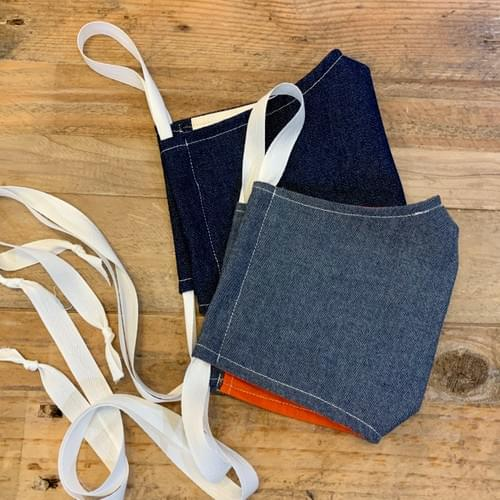 Denim and Chambray Face Masks - Washable/Reusable