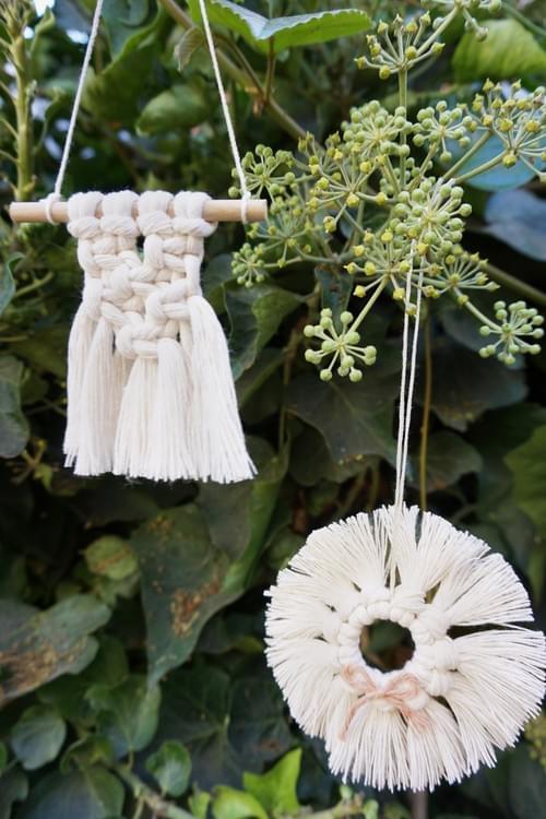 Mini Macramé Holiday Ornaments - Dec 4 Online