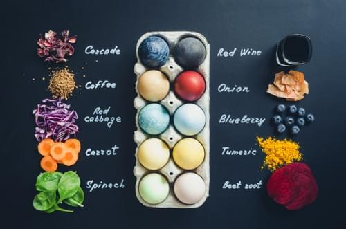 Natural Dyed Easter Eggs Online - March 28