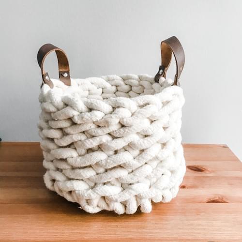 Crochet Rope Basket - June 28th Online