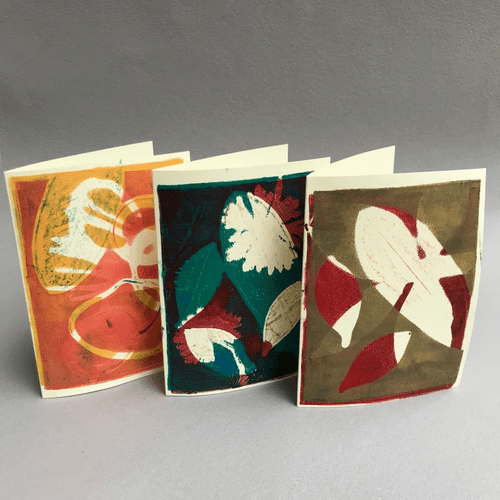 Gel Plate Printing Inspired by Nature - ONLINE Oct. 2