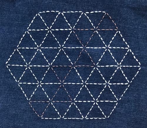 Sashiko Embroidery - Online April 8