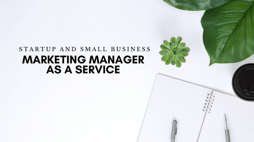 Marketing Manager As A Service - Small Business