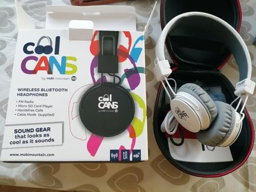 Cool Cans Bluetooth Wireless Headphones