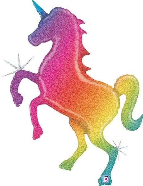 Glitter Rainbow Unicorn