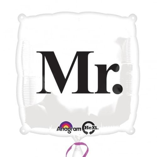 18 Inch Mr & Mrs foil balloon's