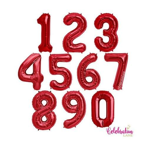 Large 34 Inflated Inch Number's