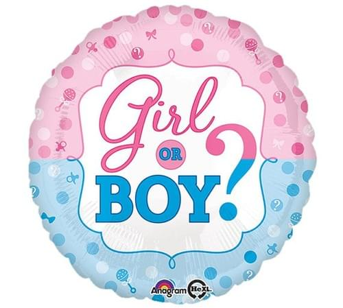 He or She Foil Balloon's