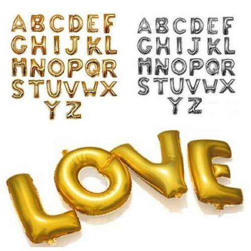 34 Inch Inflated Foil Letter's