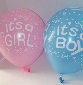 Latex baby shower balloon's