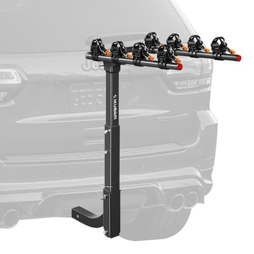 IKURAM 4 Bicycle Carrier Car Rear Rack