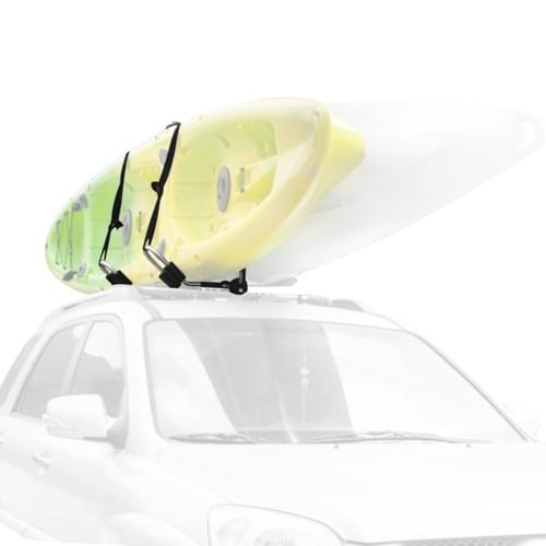 Unilateral J-Style Folding Kayak Carrier for Roof Rack