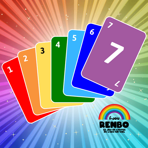 RENBO le jeu de cartes de l'arc-en-ciel