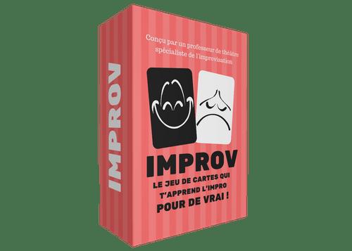 IMPROV le jeu de cartes qui t'apprend l'impro