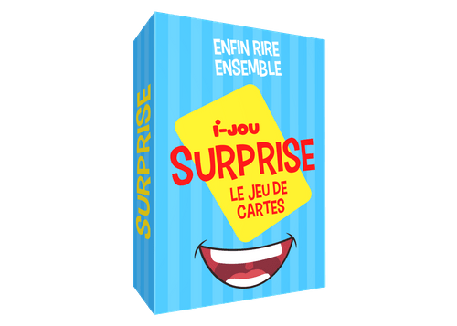 SURPRISE le jeu de cartes facile pour rire ensemble