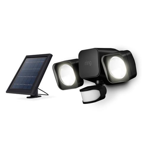 Instillation Service + Ring Solar Floodlight | Florida's Top SmartHome Installers