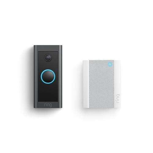 Ring Video Doorbell Wired + Chime Bundle