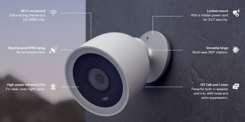 Nest Outdoor IQ Cam