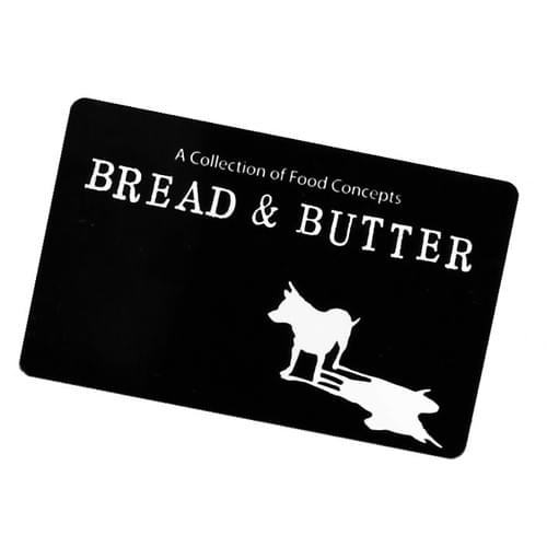Bread and Butter Gift Card
